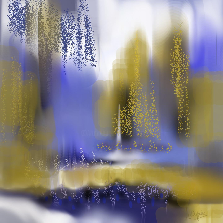 Jocelyne Dupuis (Jo Dupuis) - 'Illusion ou réalité'  -  40 x 40 in.