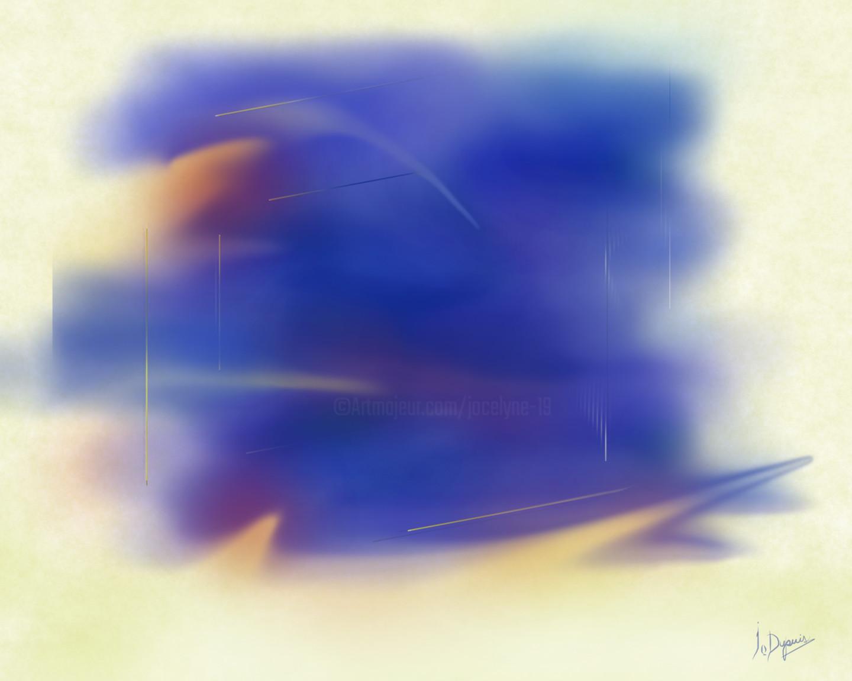 """Jocelyne Dupuis (Jo Dupuis) - """"Occuper l'Espace"""" - 48 x 60 in."""