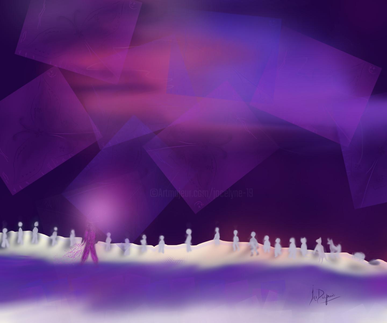 Jocelyne Dupuis (Jo Dupuis) - 'Je Suis'  40 x 48