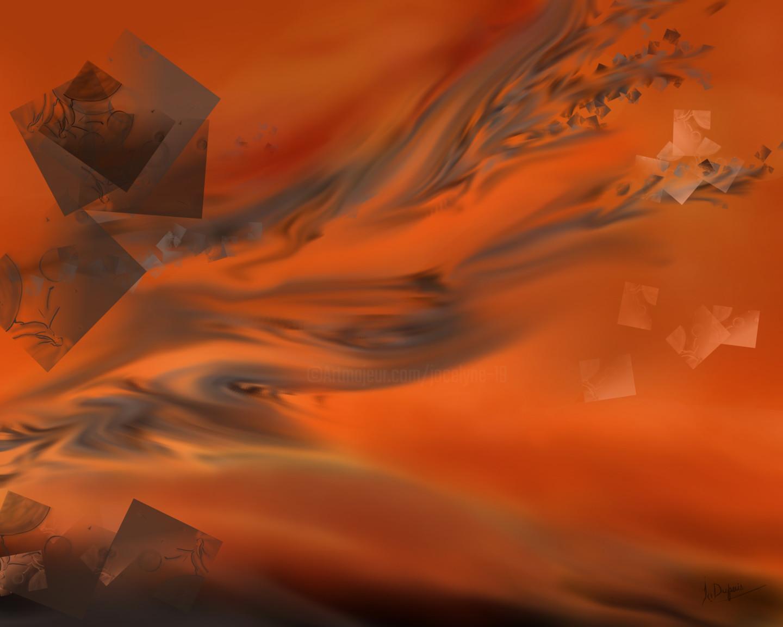 Jocelyne Dupuis (Jo Dupuis) - 'L'Instant Présent' - 48 x 60